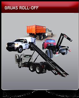 Gruas Roll-Off, Camion recolector de basura cancun